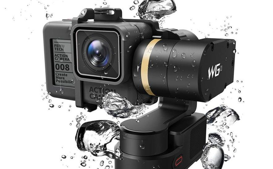 GoPro Cameras Gimbal Stabilizer: FeiyuTech Waterproof Wearable Reviews