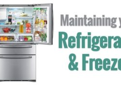 maintaining fridge and Refrigerators